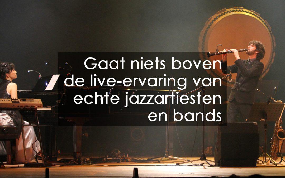 Jazzfestivals en evenementen in België